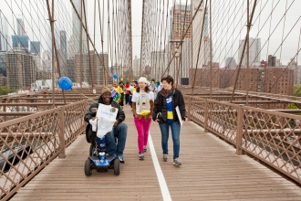 Lantern's Executive Director joins staff and residents for the NAMI Walk for Mental Illness