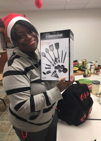 Kitchen-themed gifts for the Food 4 Life class